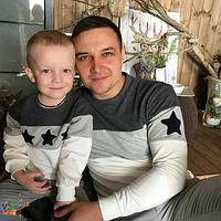 ПАРНАЯ ОДЕЖДА, Фэмилилук для всей семьи (Familylook) свитшоты взрослые