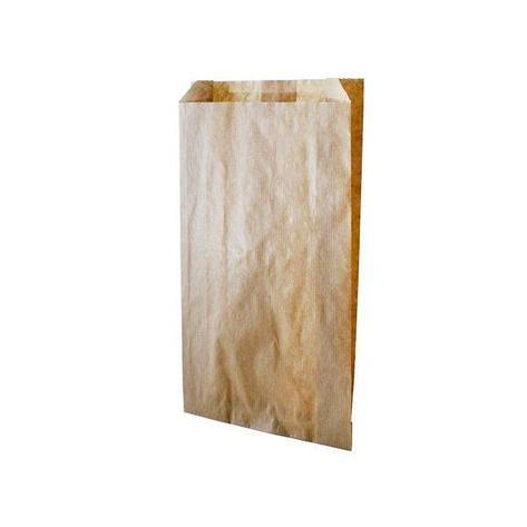 Пакет бумажный 350х90х200 крафт бурый 40гр, 1000 шт, фото 2
