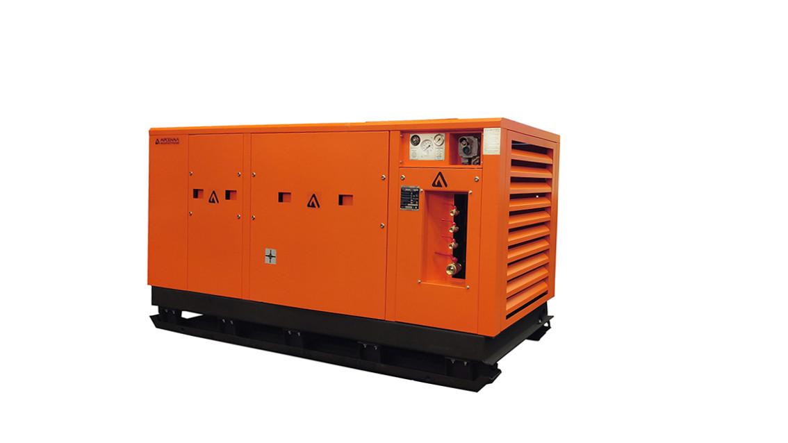 ЗИФ Станция воздушно-компрессорная шахтная ЗИФ-ШВ 33/0,7 Т (660; 380 В, на салазках)