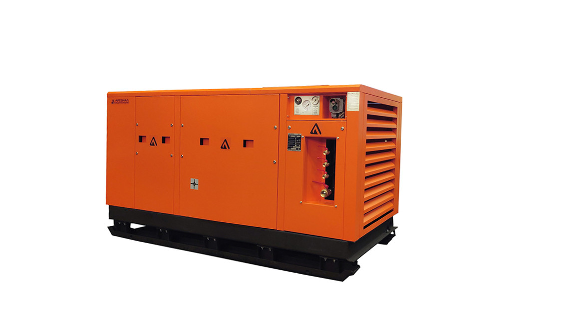 ЗИФ Станция воздушно-компрессорная шахтная ЗИФ-ШВ 14/0,7 (660; 380 В, на салазках)