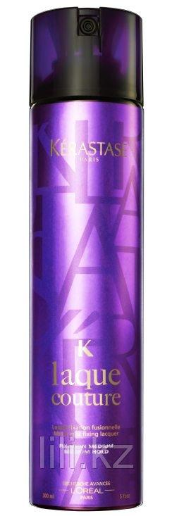 Лак для волос гибкой длительной фиксации Kerastase K Laque Couture Micro Mist Fixing Laquer Medium Hold 300 мл