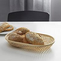КЛЮФТА Корзина для хлеба, бамбук, 36x22 см, фото 1