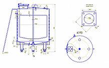 Резервуар универсальный Я1-ОСВ-4,0, фото 3