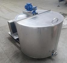 Танк-охладитель молока УОМ R-300 открытого типа, фото 3