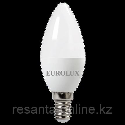 Лампа светодиодная EUROLUX LL-E-C37-7W-230-4K-E14, фото 2