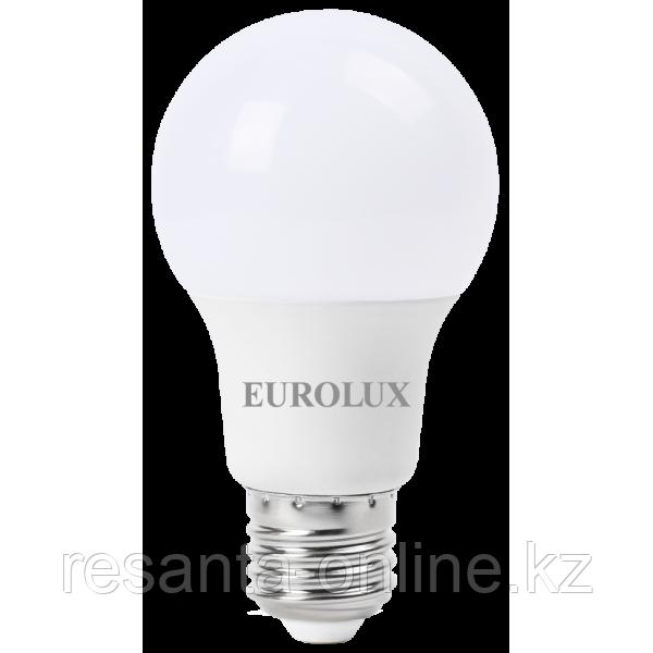 Лампа светодиодная EUROLUX LL-E-A60-11W-230-2,7K-E27