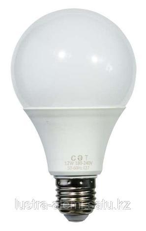Лампа Круглая 12вт 3000-6000K E14 SAT, фото 2