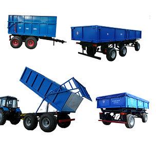 Прицепы и полуприцепы для тракторов