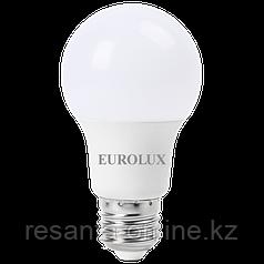 Лампа светодиодная EUROLUX LL-E-A60-15W-230-2.7K-E27