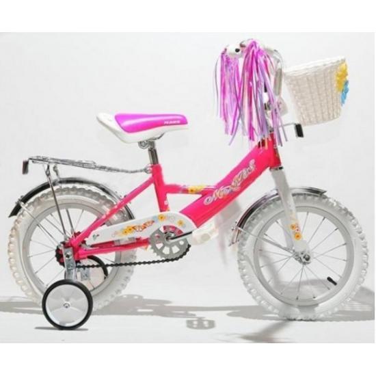 "Велосипед 12"" С1201 neon pink GIRL темно-розовый MARS TRIKE"