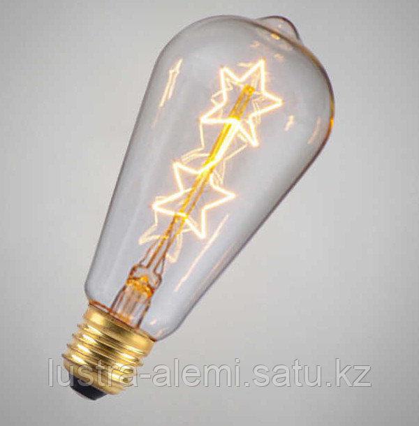 Лампа Эдисона  Шар Эра 7вт E27 2700К