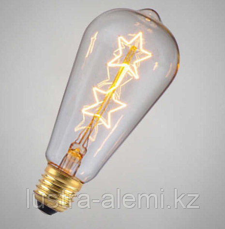 Лампа Эдисона  Шар Эра 7вт E27 2700К, фото 2