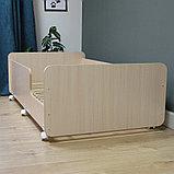PITUSO Кровать Подростковая MATEO ПТ5.ОА-Н-Б /Дуб млечный, фото 6