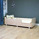 PITUSO Кровать Подростковая MATEO ПТ5.ОА-Н-Б /Дуб млечный, фото 7