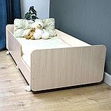 PITUSO Кровать Подростковая MATEO ПТ5.ОА-Н-Б /Дуб млечный, фото 8