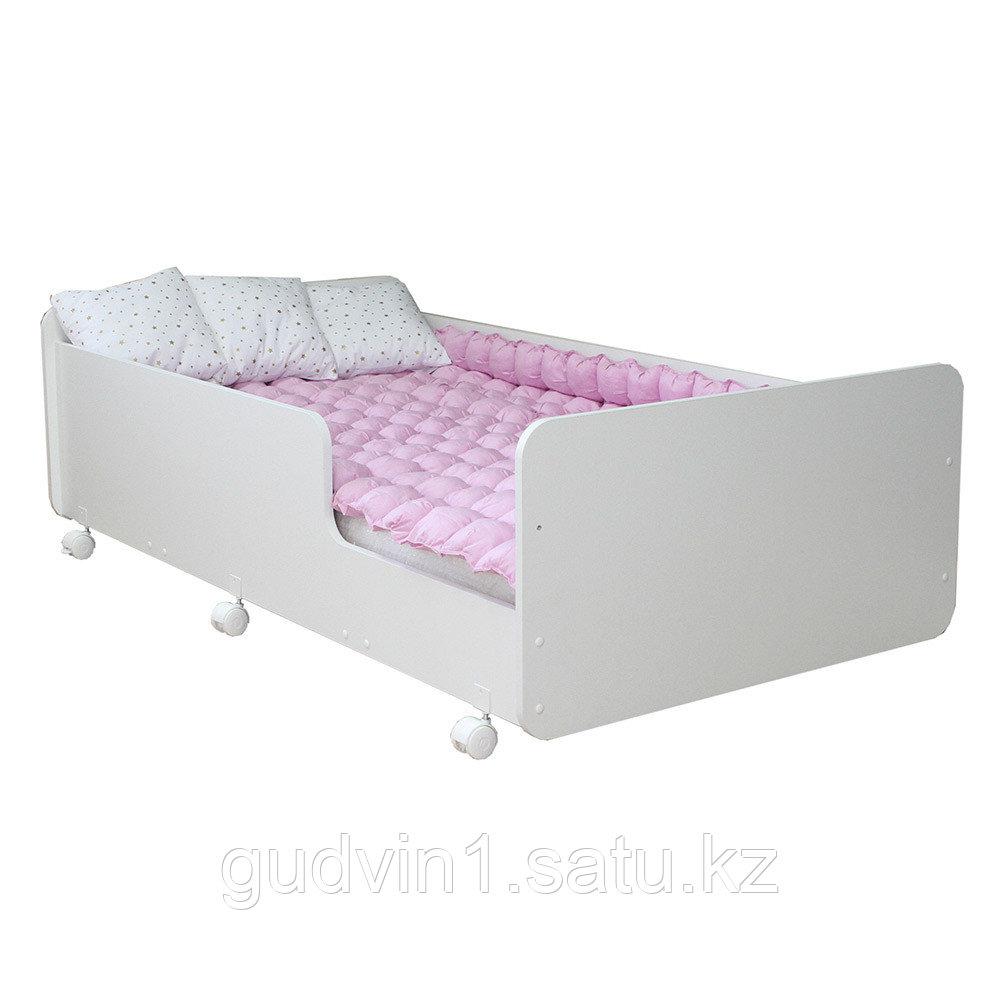 PITUSO Кровать Подростковая MATEO ПТ5.ОА-Н-Б /Белый