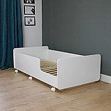PITUSO Кровать Подростковая MATEO ПТ5.ОА-Н-Б /Белый, фото 2
