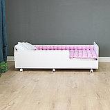 PITUSO Кровать Подростковая MATEO ПТ5.ОА-Н-Б /Белый, фото 4
