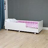 PITUSO Кровать Подростковая MATEO ПТ5.ОА-Н-Б /Белый, фото 5
