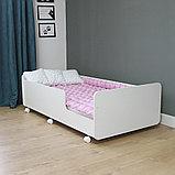 PITUSO Кровать Подростковая MATEO ПТ5.ОА-Н-Б /Белый, фото 6