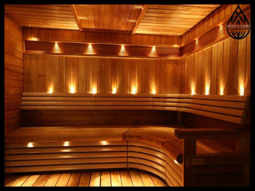 Оптоволоконное освещение для инфракрасной сауны