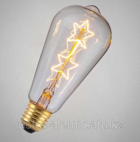 Лампа Эдисона Овальная Эра  7вт E14, фото 2