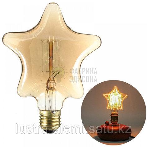 Лампа Хороз RUSTIC STAR 6вт  E27, фото 2