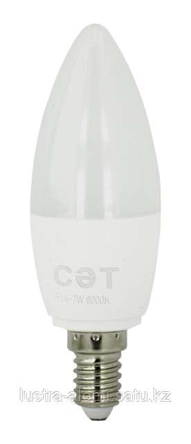 Лампа  Oval C37 ecolight 6w E27 6500K