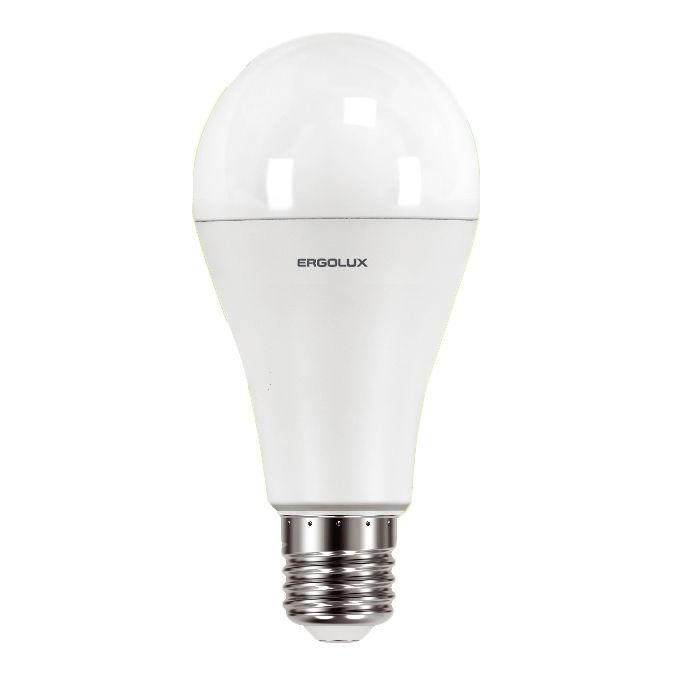 Светодиодная лампа Ergolux LED-A65-20W-E27-6K (дневной)