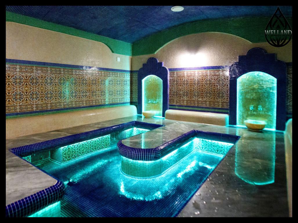 Декоративное освещение для Турецкой бани (Хамам)