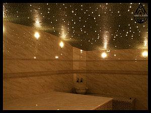 Основное освещение для Турецкой бани (Хамам)