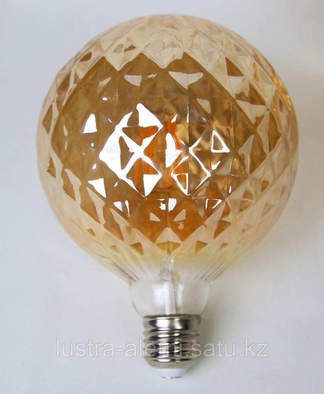 Лампа Хороз TWIST 6вт  E27