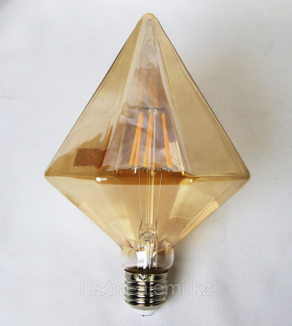 Лампа Хороз PYRAMID 6вт E27