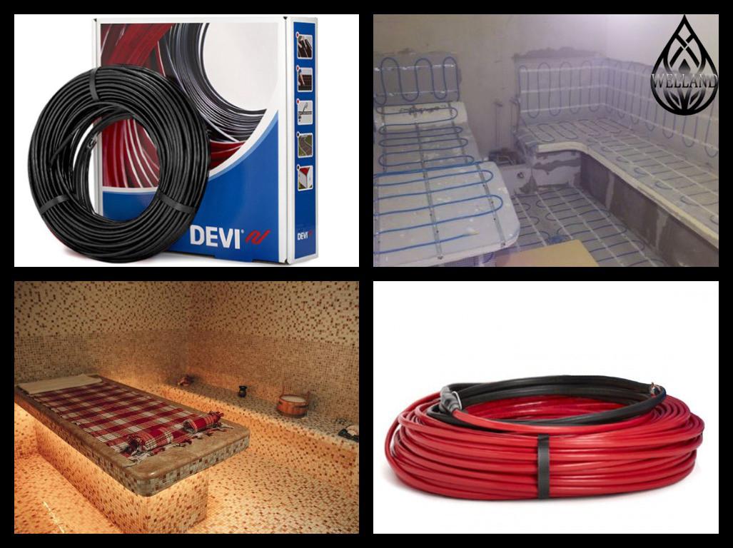 Оборудование для обогрева Паровых комнат (Steam room)