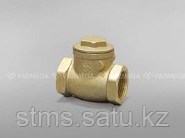 """Горизонтальный обратный клапан с резиновым уплотнением 20 (3/4"""") VM05102 Varmega"""