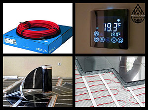 Оборудование и материалы для Теплого пола