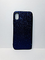 Чехол с блестками iPhone X/Xs
