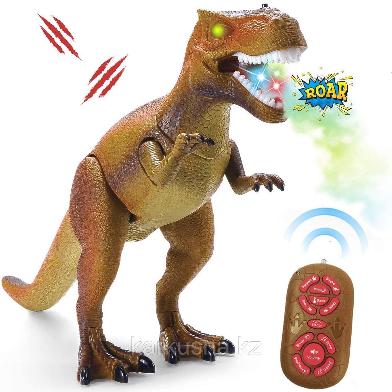 Интерактивная игрушка динозавр T-REX