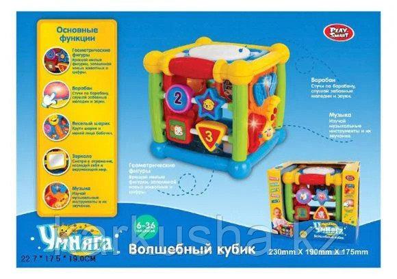 Развивающая игрушка Play Smart Волшебный кубик Умняга