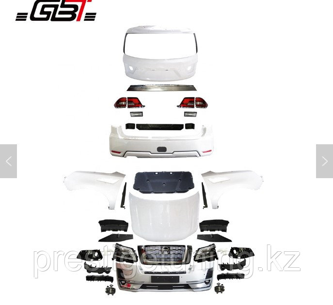 Комплект рестайлинга на Nissan Patrol Y62 2009-19 на 2020 год