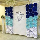 Пресс-вол, свадебный баннер, фото 3