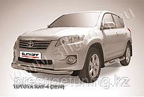 Защита переднего бампера d76 Toyota RAV4 2010-13