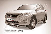 Защита переднего бампера d57 короткая Toyota RAV4 2010-13