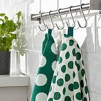 АЛЬВАЛИЗА Полотенце кухонное, зеленый, белый, 50x70 см, фото 1