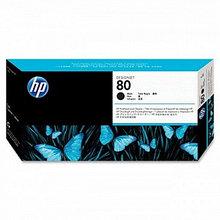 HP C4820A Печатающая головка черная HP 80 для DesignJet 1000/1000+ семейства, с устройством очистки