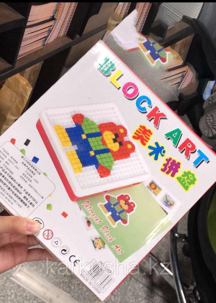Развивающая игрушка Block art
