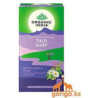 Успокаивающий чай Тулси (Tulsi sleep ORGANIC INDIA), 25 пакетиков