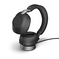 Беспроводная гарнитура Jabra Evolve2 85, Link380a MS Stereo Desk Stand Black (28599-999-989), фото 1