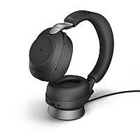 Беспроводная гарнитура Jabra Evolve2 85, Link380c MS Stereo Desk Stand Black (28599-999-889), фото 1