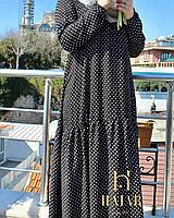 Платье штапельное длинное HAJAR